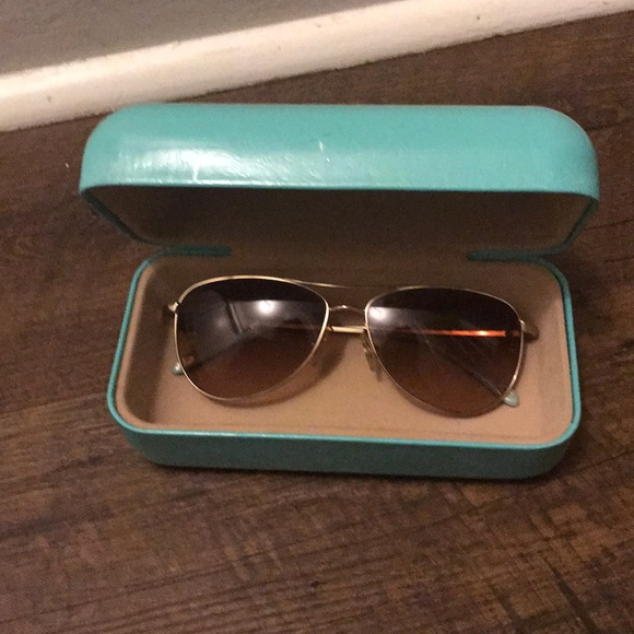 afdd0de02f03 Tiffany   Co Aviator Sunglasses with Bow Detail.  M 5aadbe413afbbd0cdac66e43. Other Accessories ...